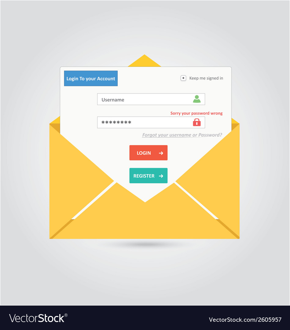 User login 27 vector | Price: 1 Credit (USD $1)