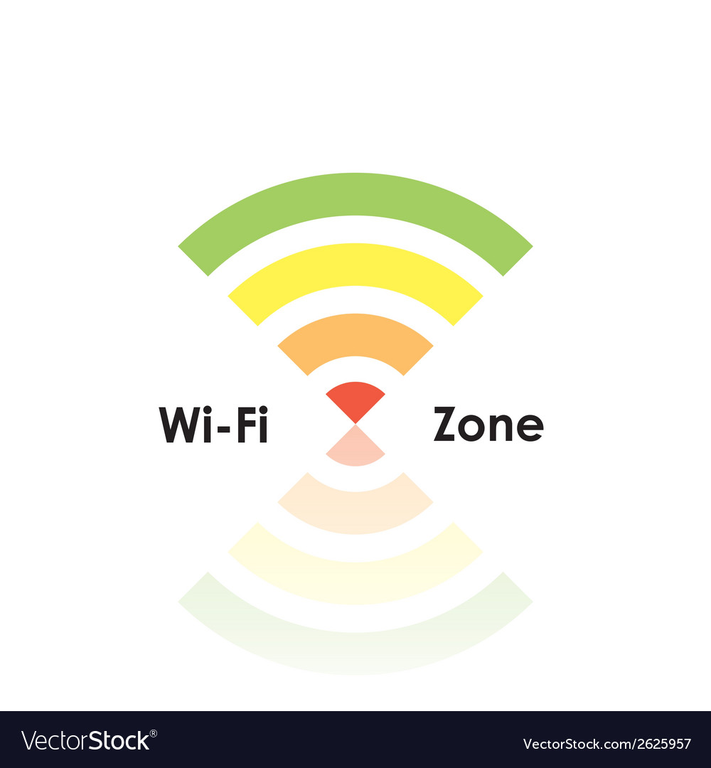 Wifi zone vector | Price: 1 Credit (USD $1)