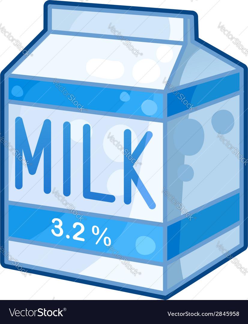 Carton of milk vector | Price: 1 Credit (USD $1)