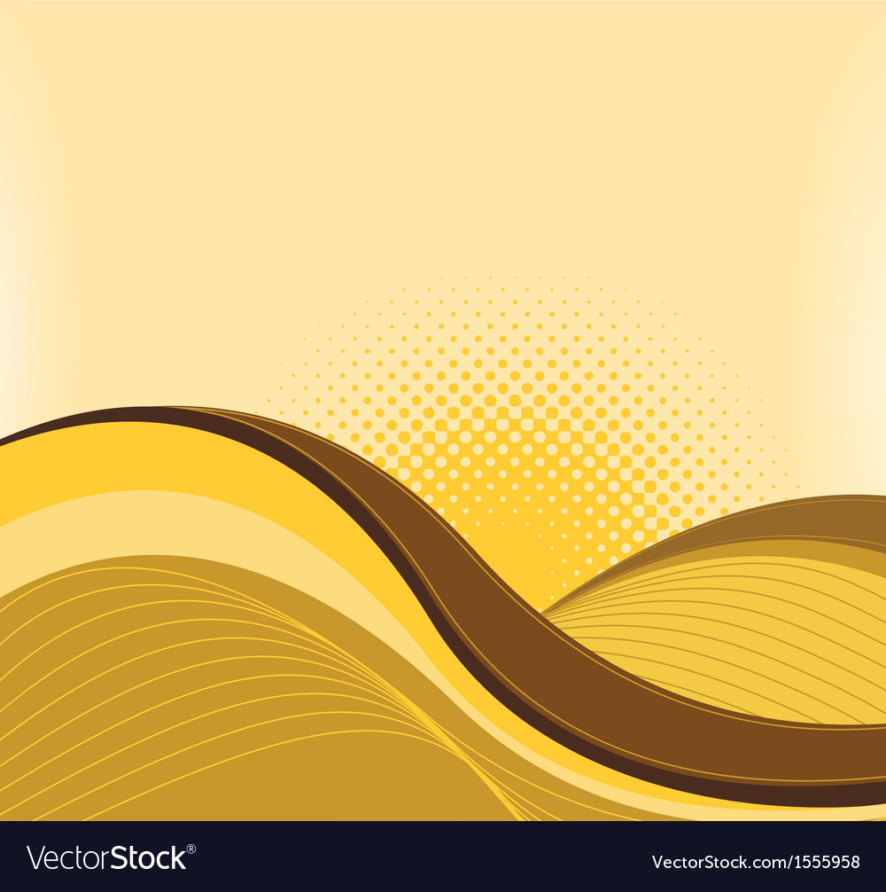 Drawing of abstract waves vector | Price: 1 Credit (USD $1)