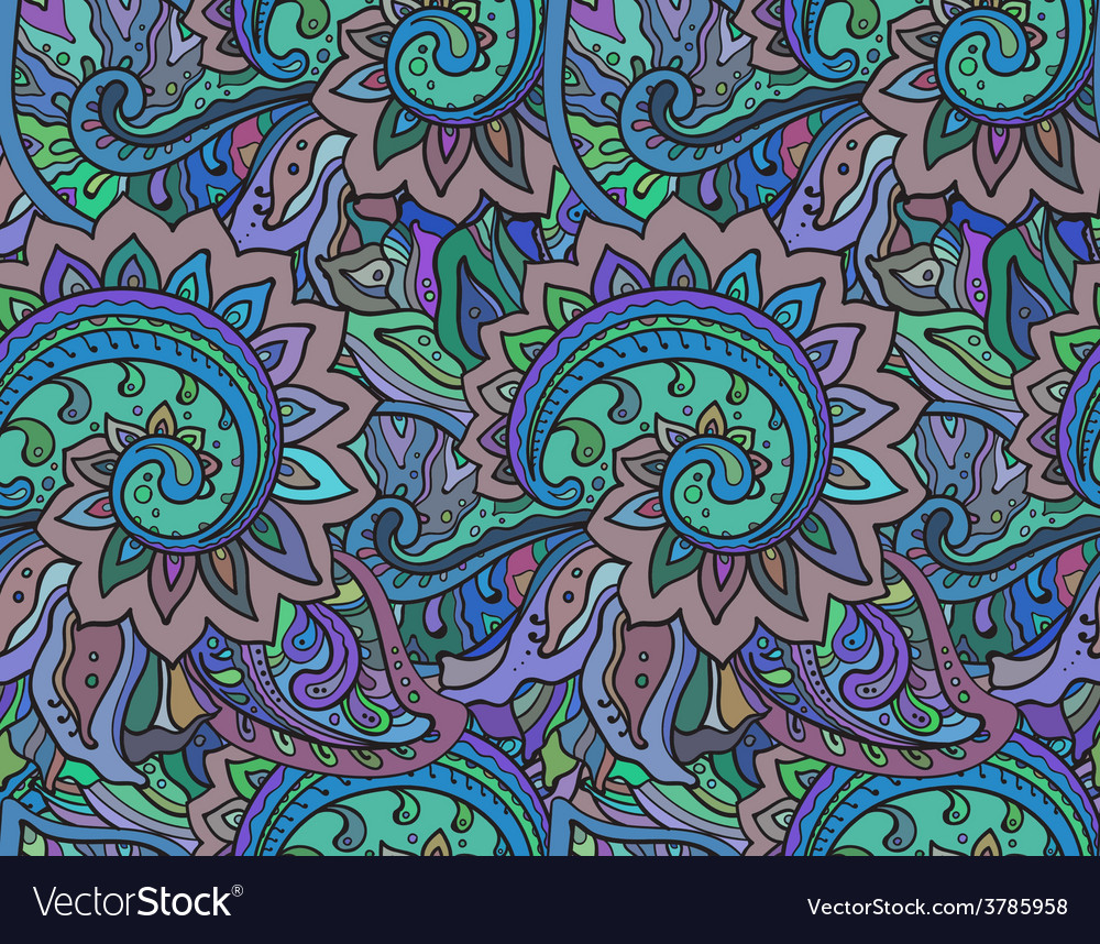 Seamless pattern with traditional oriental vector | Price: 1 Credit (USD $1)