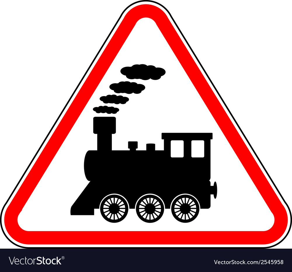 Train sign vector | Price: 1 Credit (USD $1)