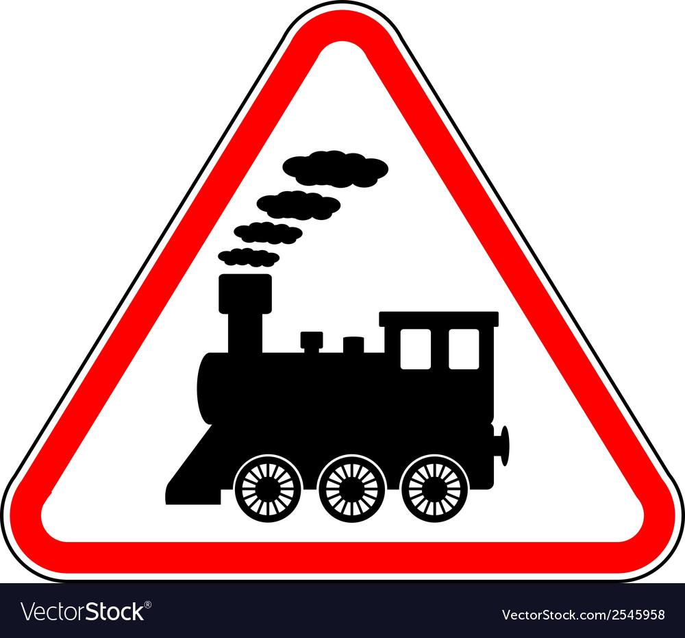 Train sign vector | Price: 1 Credit (USD $1)