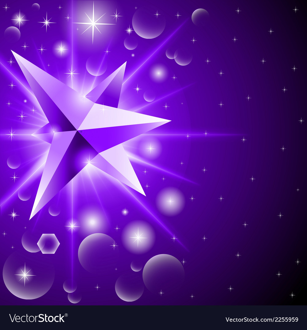 Abstract background with glowing crystal among vector | Price: 1 Credit (USD $1)