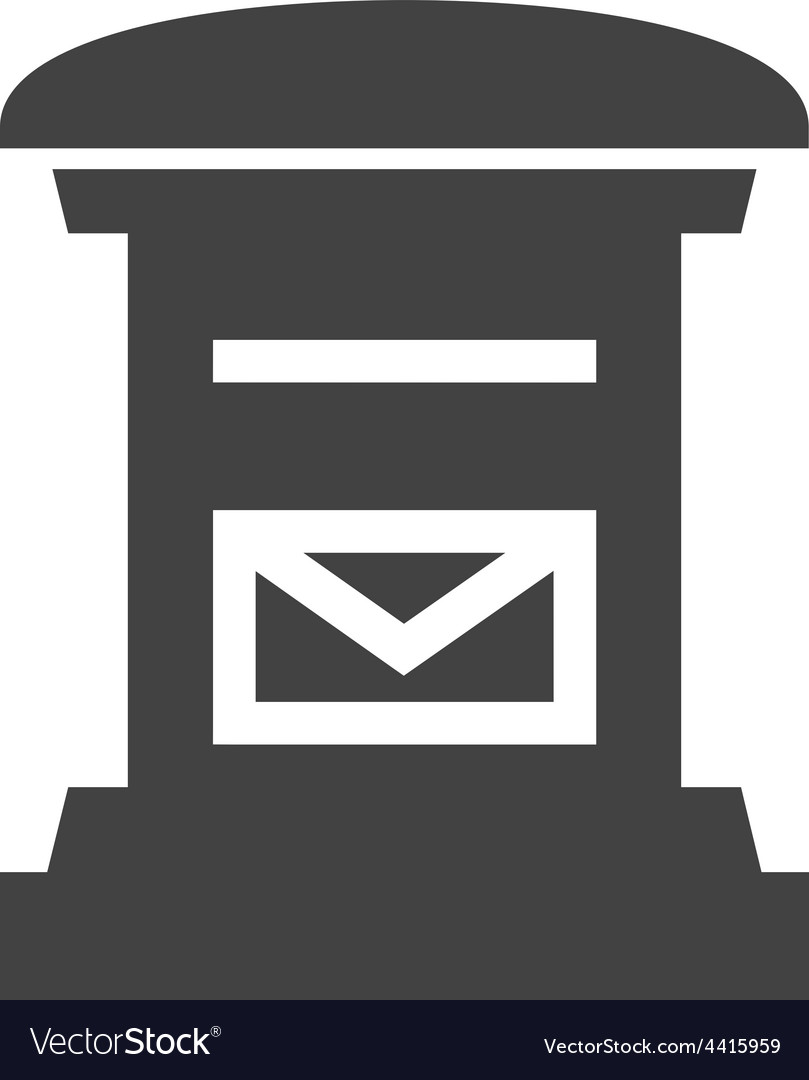 Letterbox vector | Price: 1 Credit (USD $1)