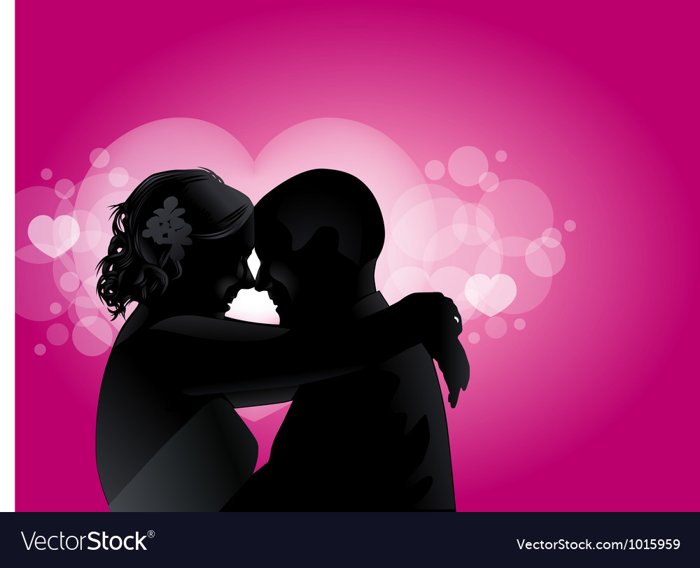 Love couples with love boken vector | Price: 1 Credit (USD $1)