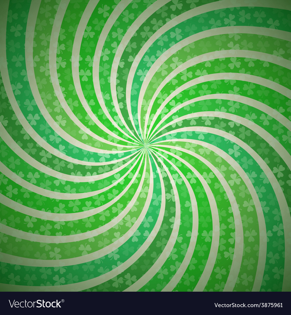Abstract geometric vintage green and white vector | Price: 1 Credit (USD $1)