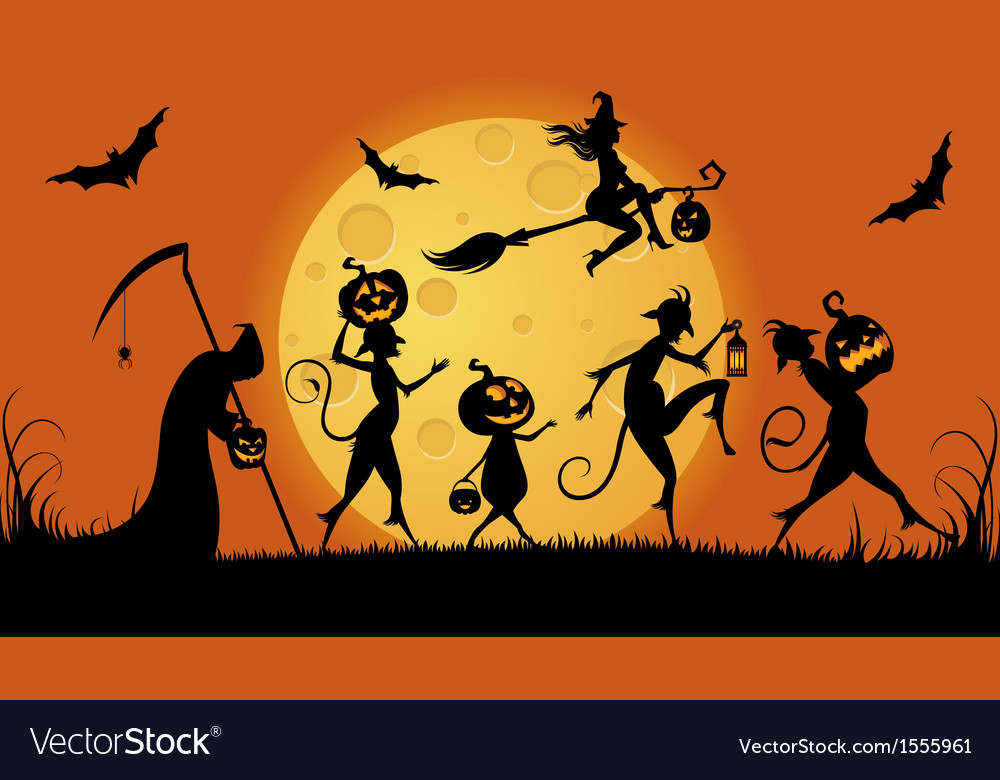 Party monsters for halloween vector | Price: 1 Credit (USD $1)