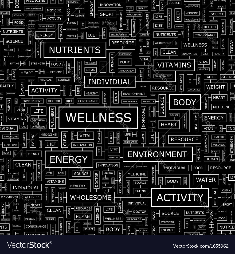 Wellness vector | Price: 1 Credit (USD $1)