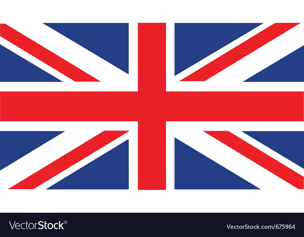 English flag vector | Price: 1 Credit (USD $1)