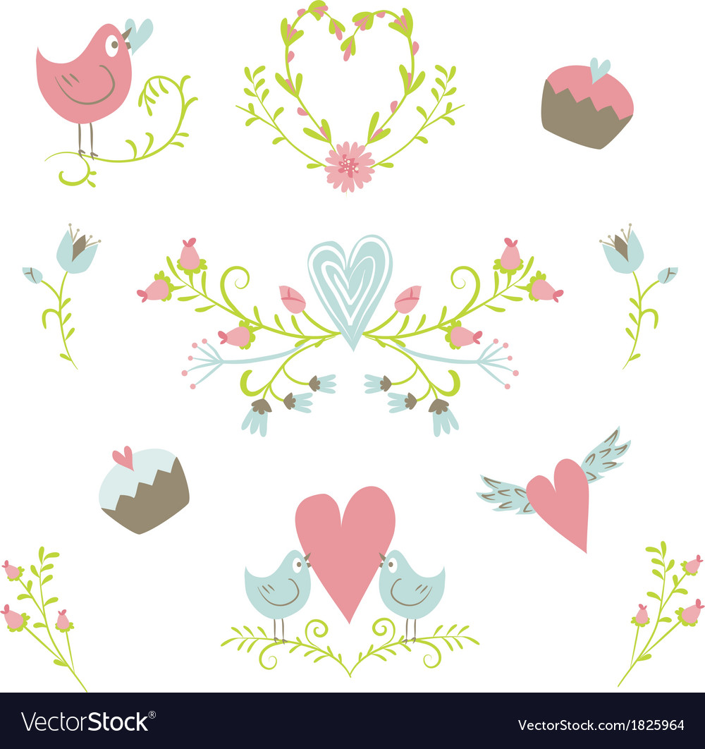 Valentines day collection 2 vector | Price: 1 Credit (USD $1)