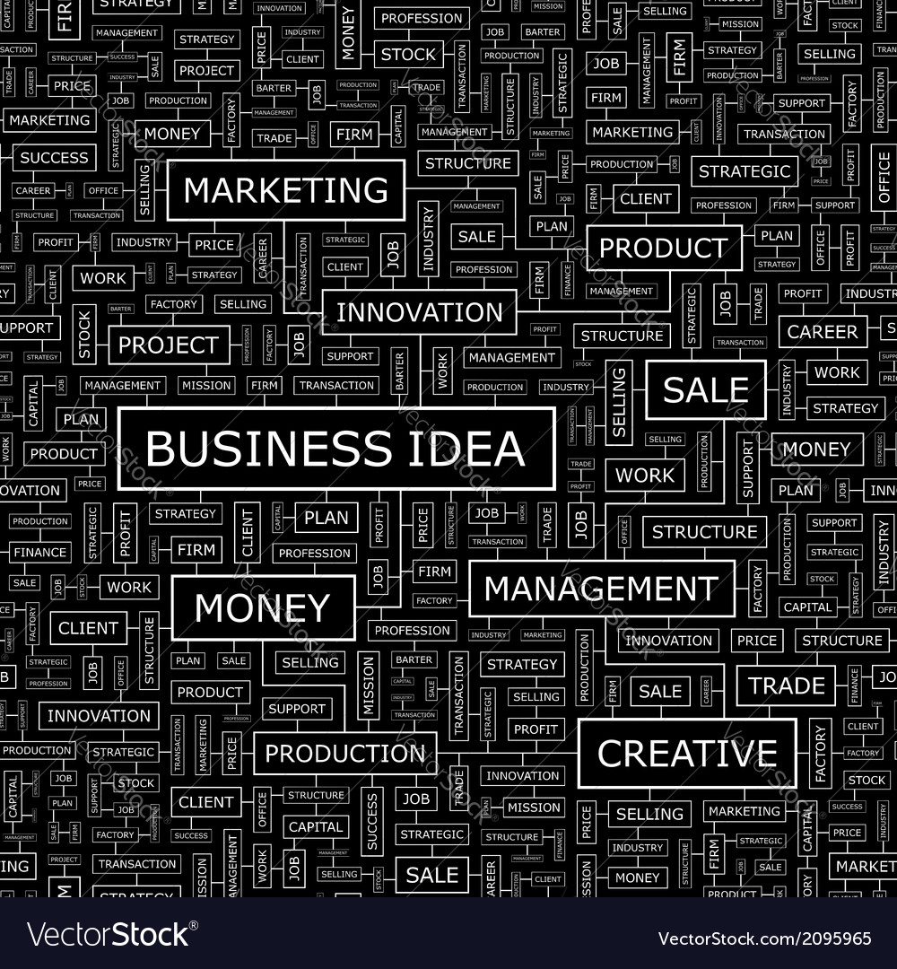 Business idea vector | Price: 1 Credit (USD $1)