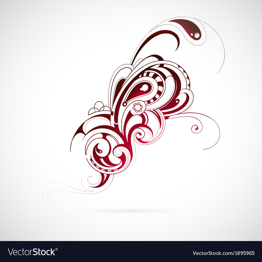 Ethnic element vector | Price: 1 Credit (USD $1)