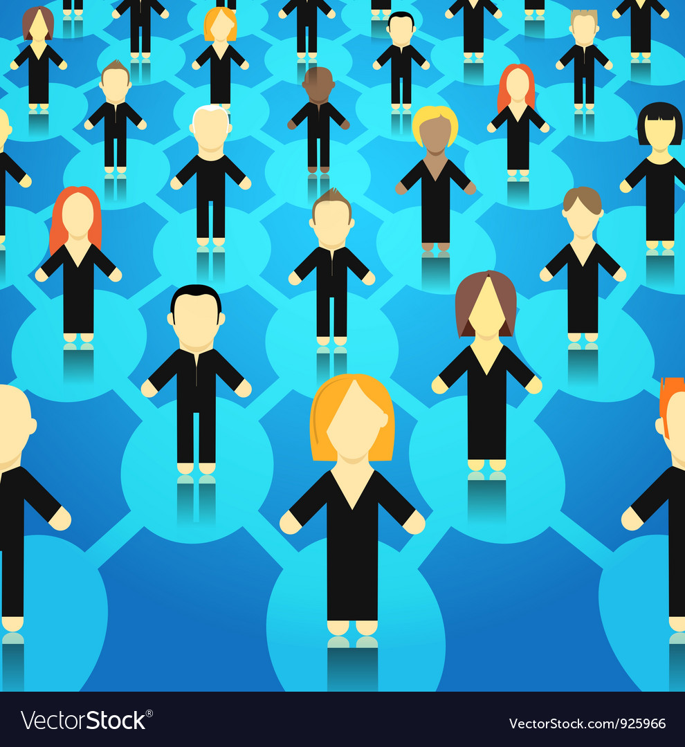 Crowd vector | Price: 3 Credit (USD $3)