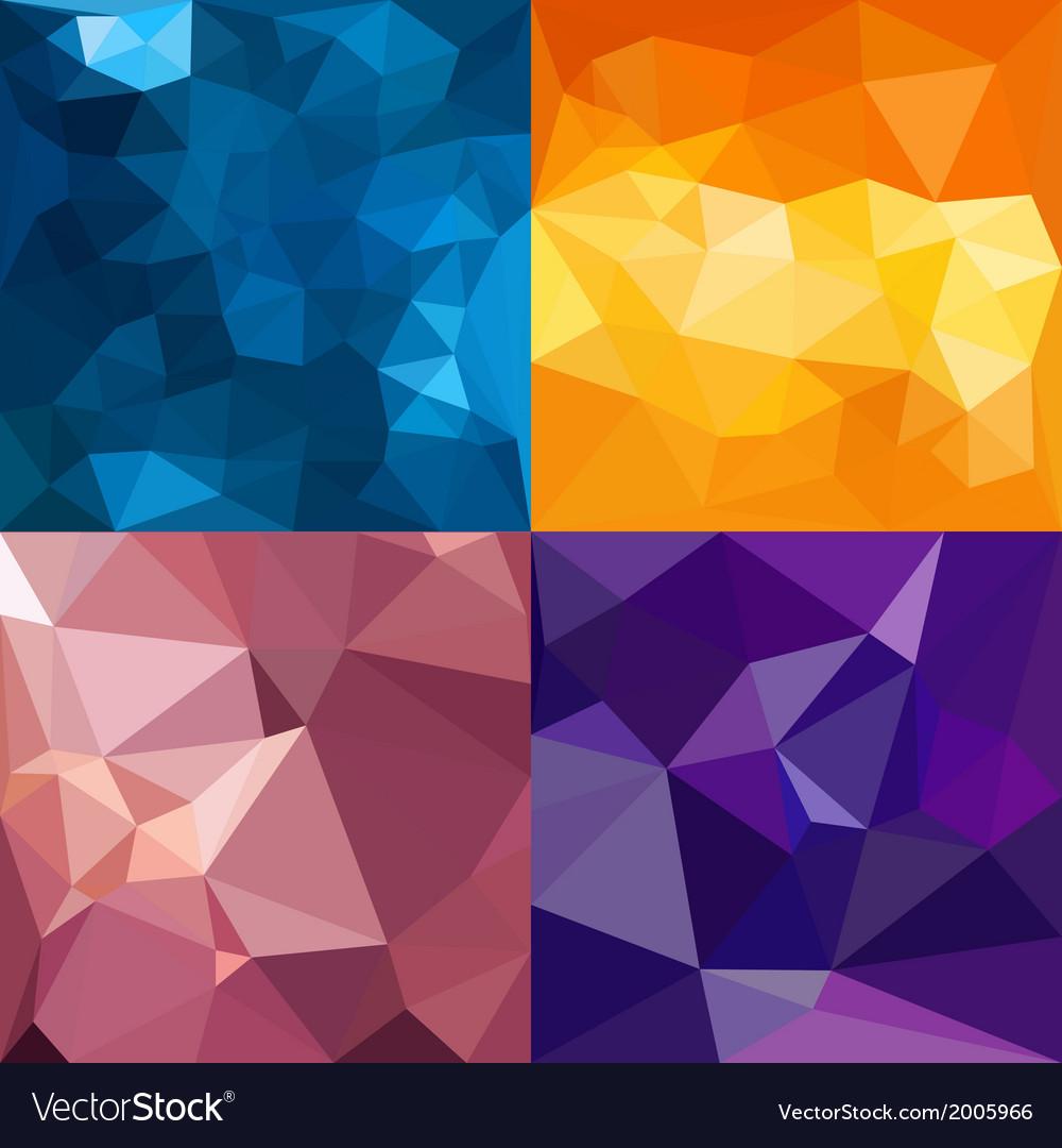 Polygonal background vector | Price: 1 Credit (USD $1)