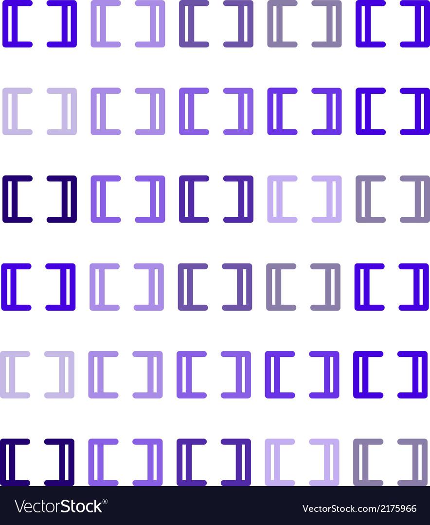 Purple brackets vector | Price: 1 Credit (USD $1)