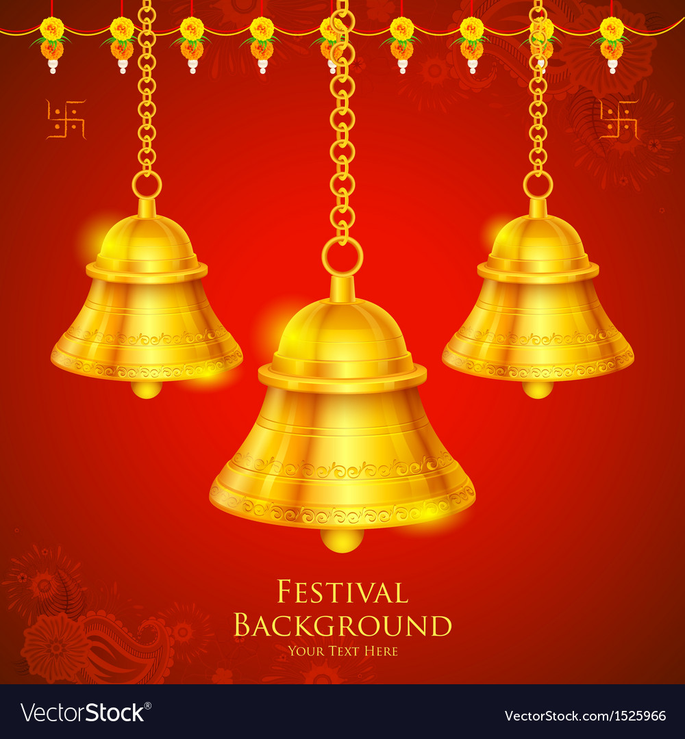 Temple bell vector | Price: 1 Credit (USD $1)