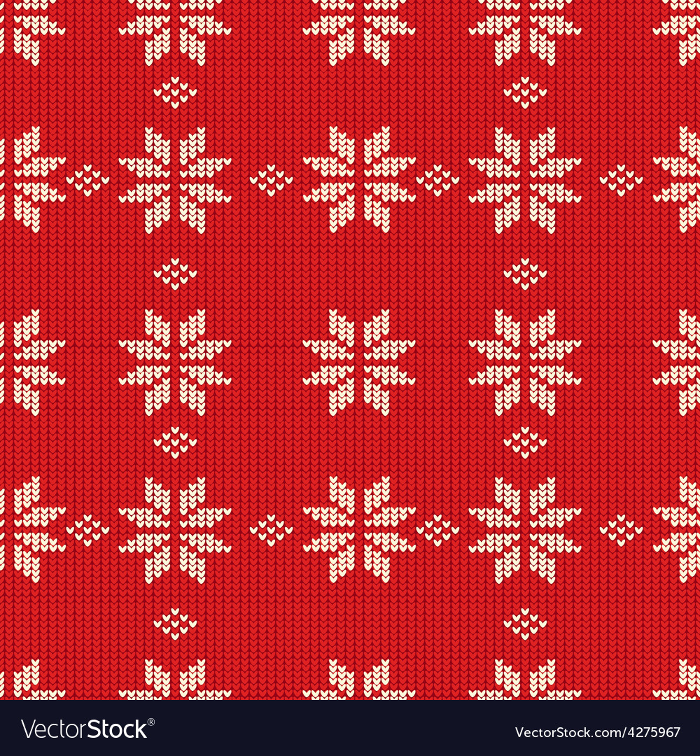 Knitting pattern vector | Price: 1 Credit (USD $1)