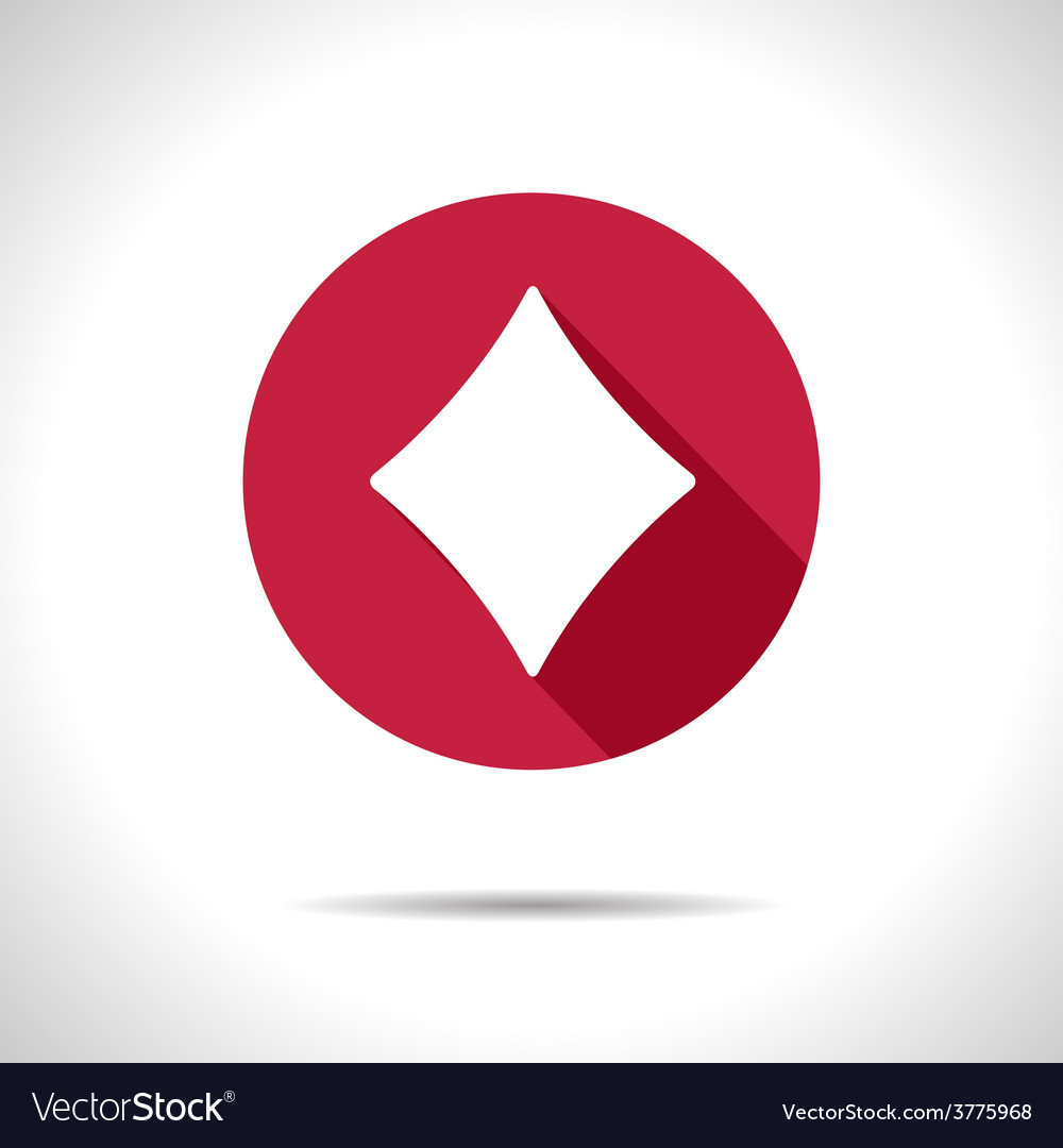 Game rhombus icon eps10 vector | Price: 1 Credit (USD $1)