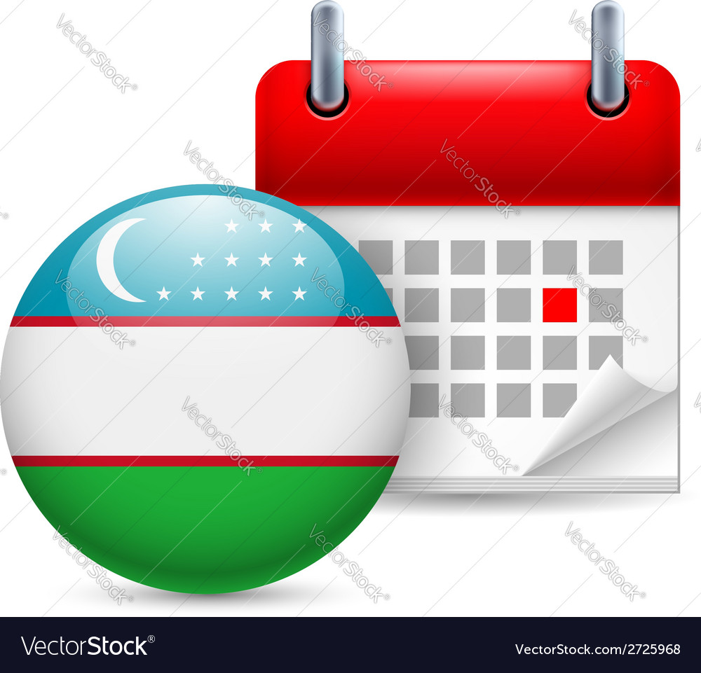 Icon of national day in uzbekistan vector | Price: 1 Credit (USD $1)