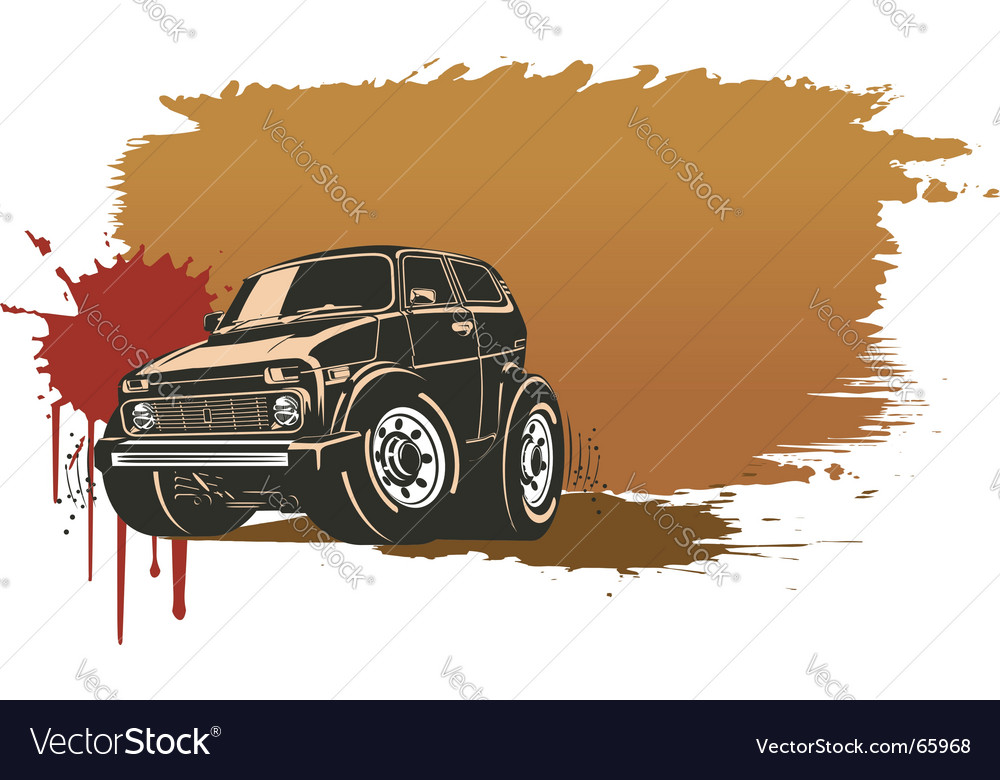 Off-road vehicle vector | Price: 1 Credit (USD $1)