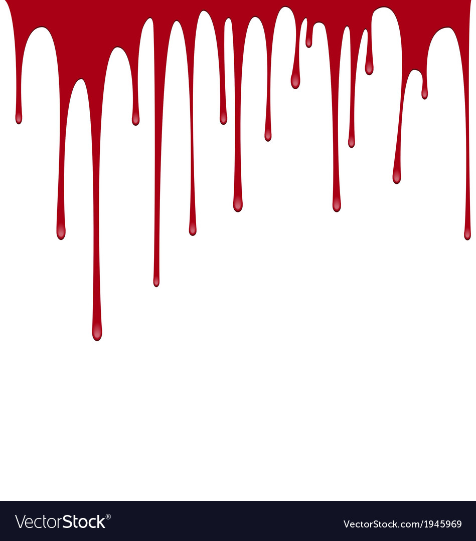 Blood dripping background vector | Price: 1 Credit (USD $1)