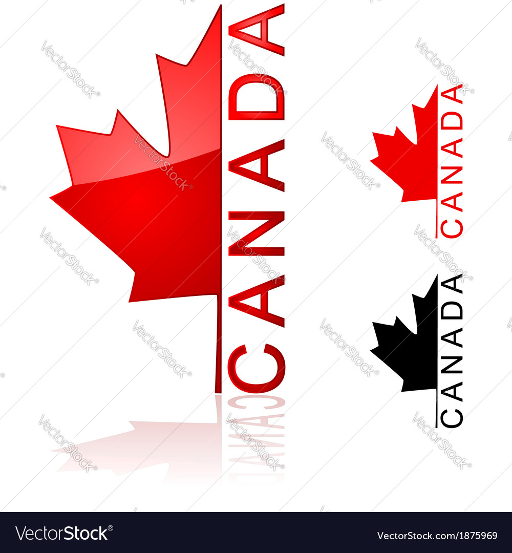 Canada icon vector | Price: 1 Credit (USD $1)