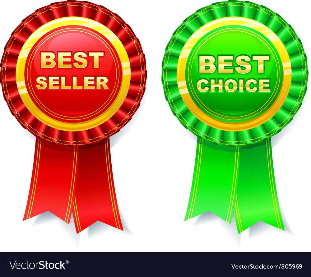 Ribbon rosette vector | Price: 1 Credit (USD $1)