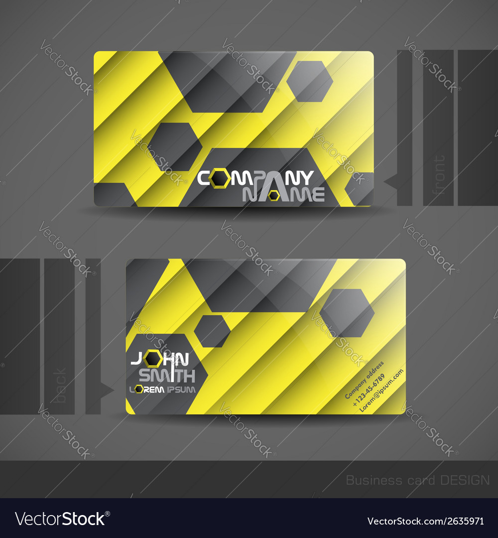 Business card design vector   Price: 1 Credit (USD $1)