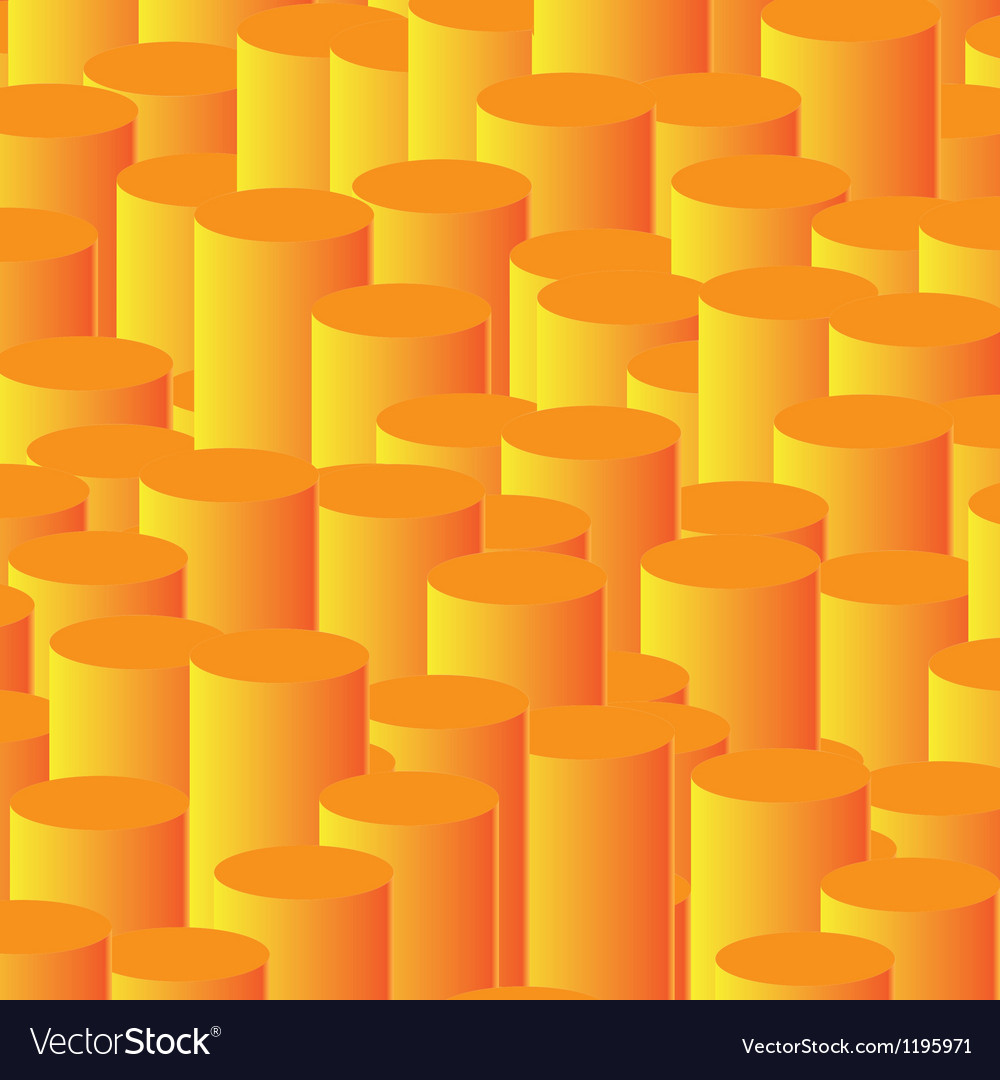 Orange column background vector | Price: 1 Credit (USD $1)