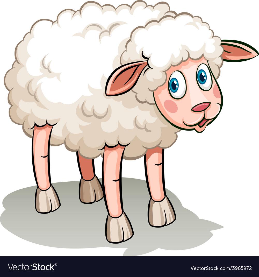 A black sheep vector | Price: 1 Credit (USD $1)