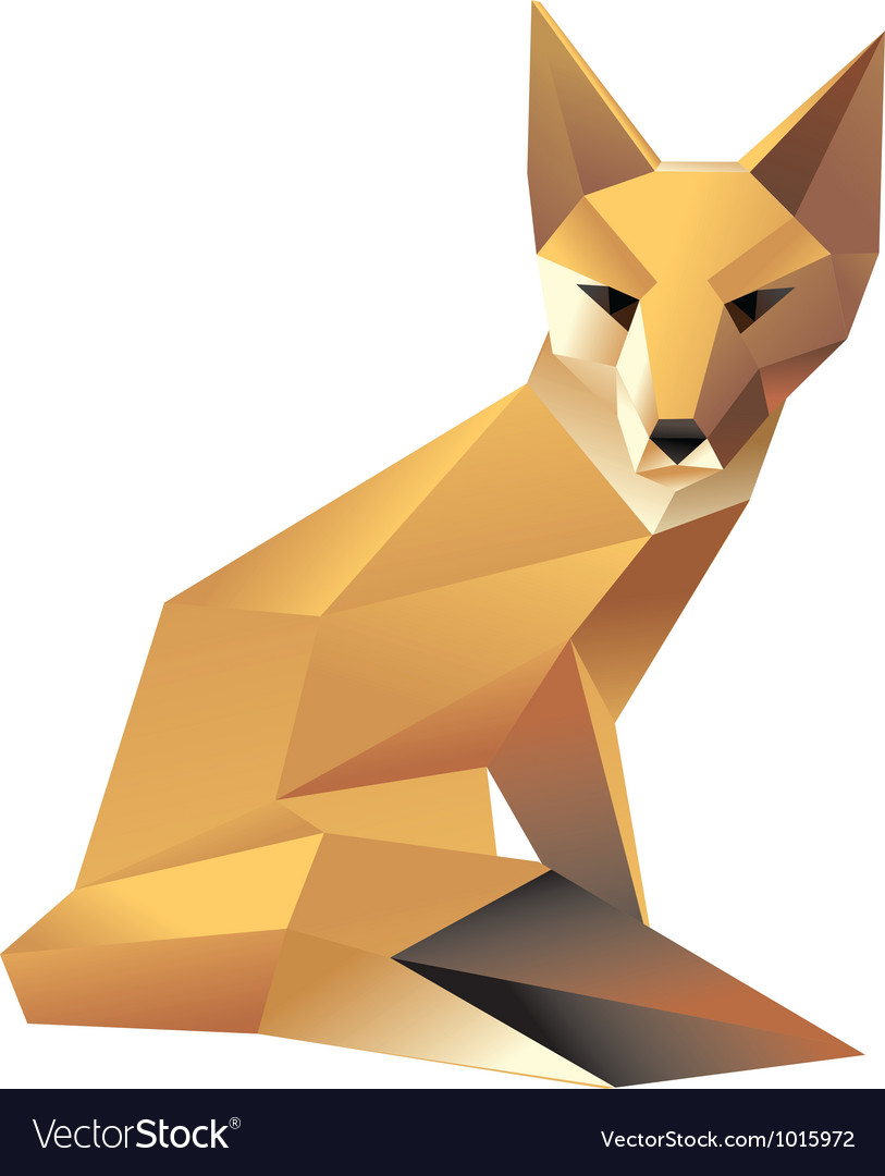 Sitingfox vector | Price: 1 Credit (USD $1)