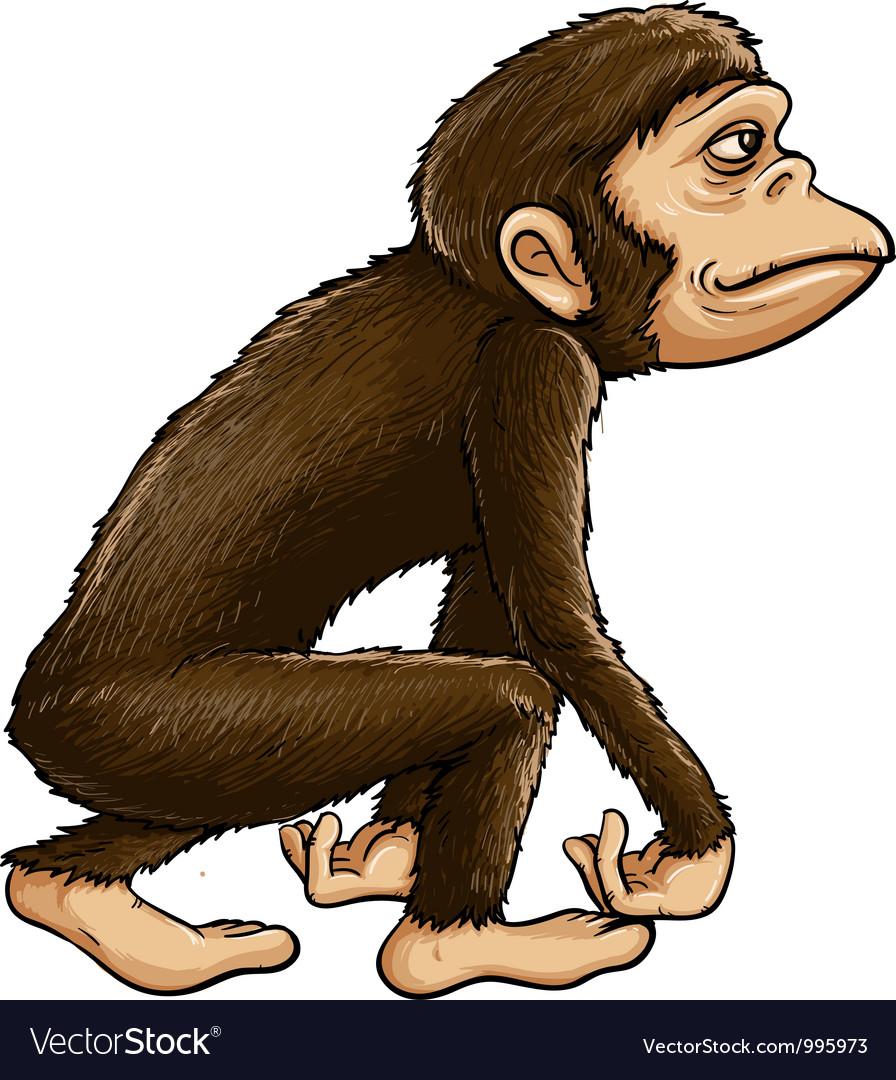 Ape vector | Price: 3 Credit (USD $3)