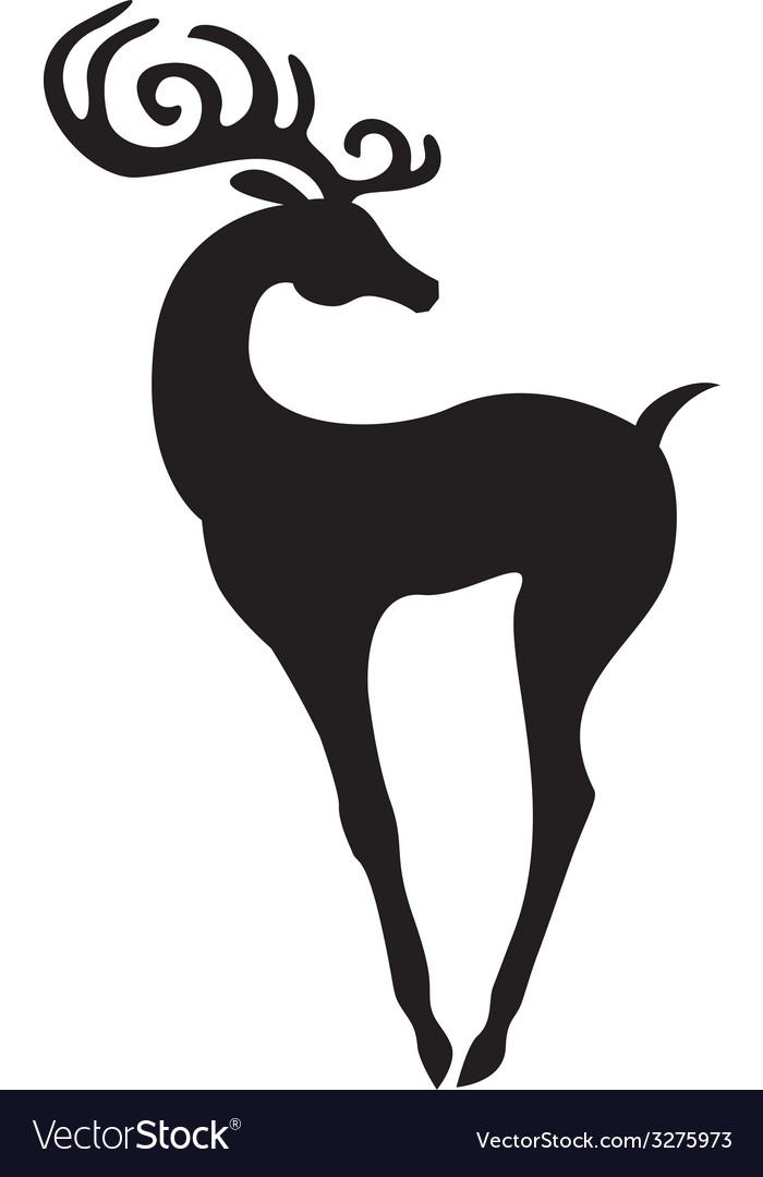 Beauty deer vector | Price: 1 Credit (USD $1)