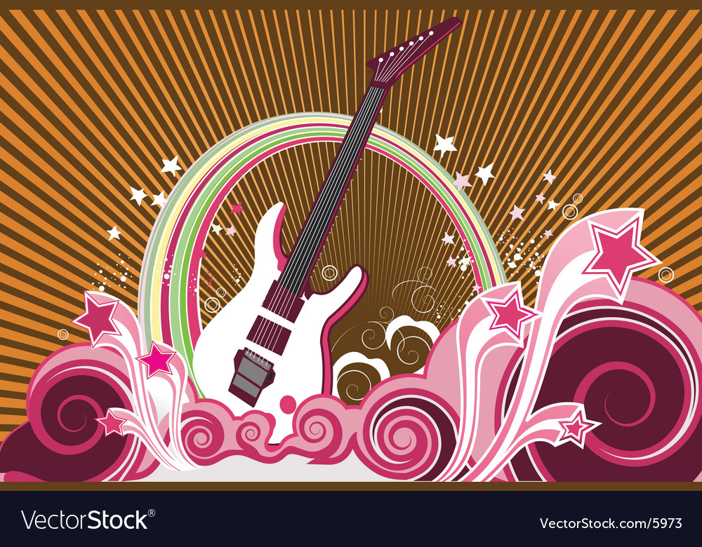 Musical background vector | Price: 3 Credit (USD $3)