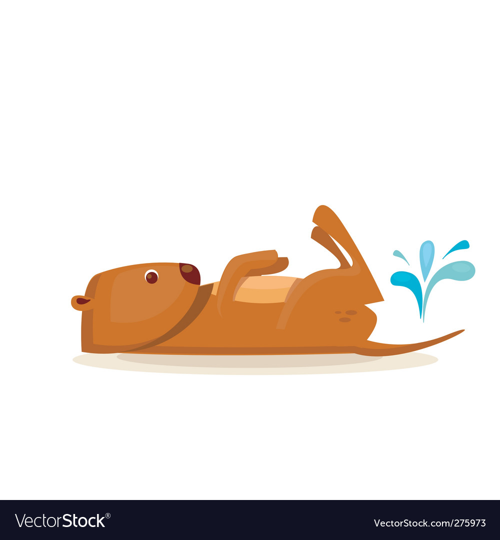 Sea otter vector | Price: 1 Credit (USD $1)