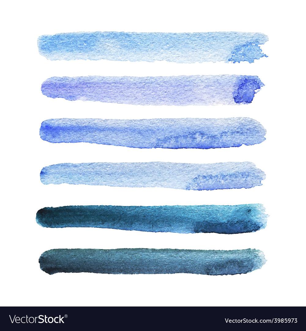 Watercolor stripes vector | Price: 1 Credit (USD $1)
