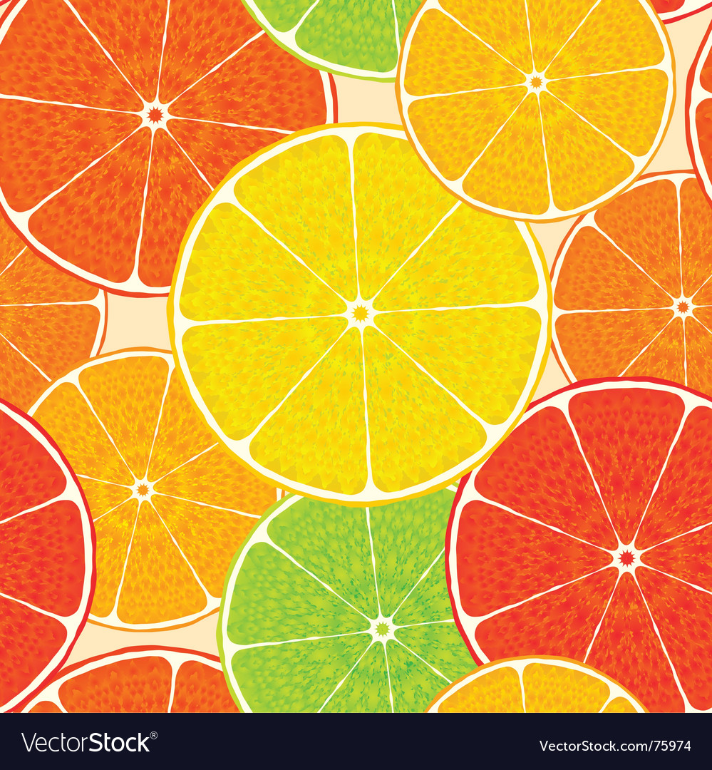 Abstract citrus vector | Price: 1 Credit (USD $1)