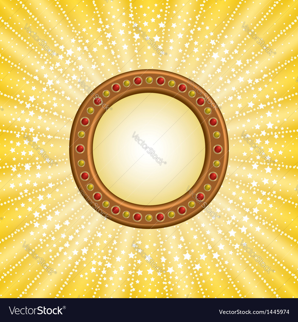 Circle marquee vector | Price: 1 Credit (USD $1)