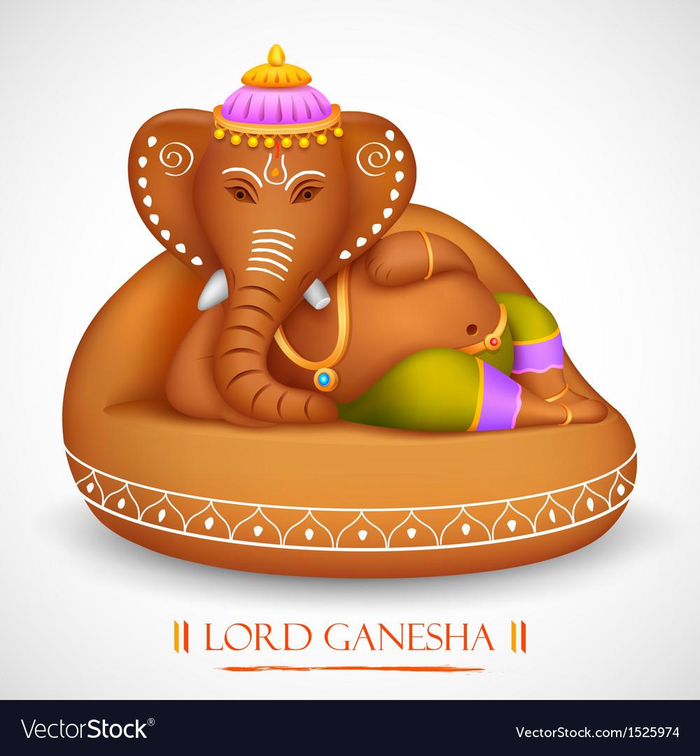 Lord ganesha vector | Price: 1 Credit (USD $1)