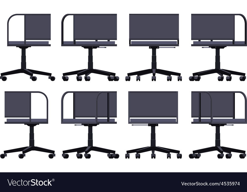 Office spinning chair vector | Price: 1 Credit (USD $1)