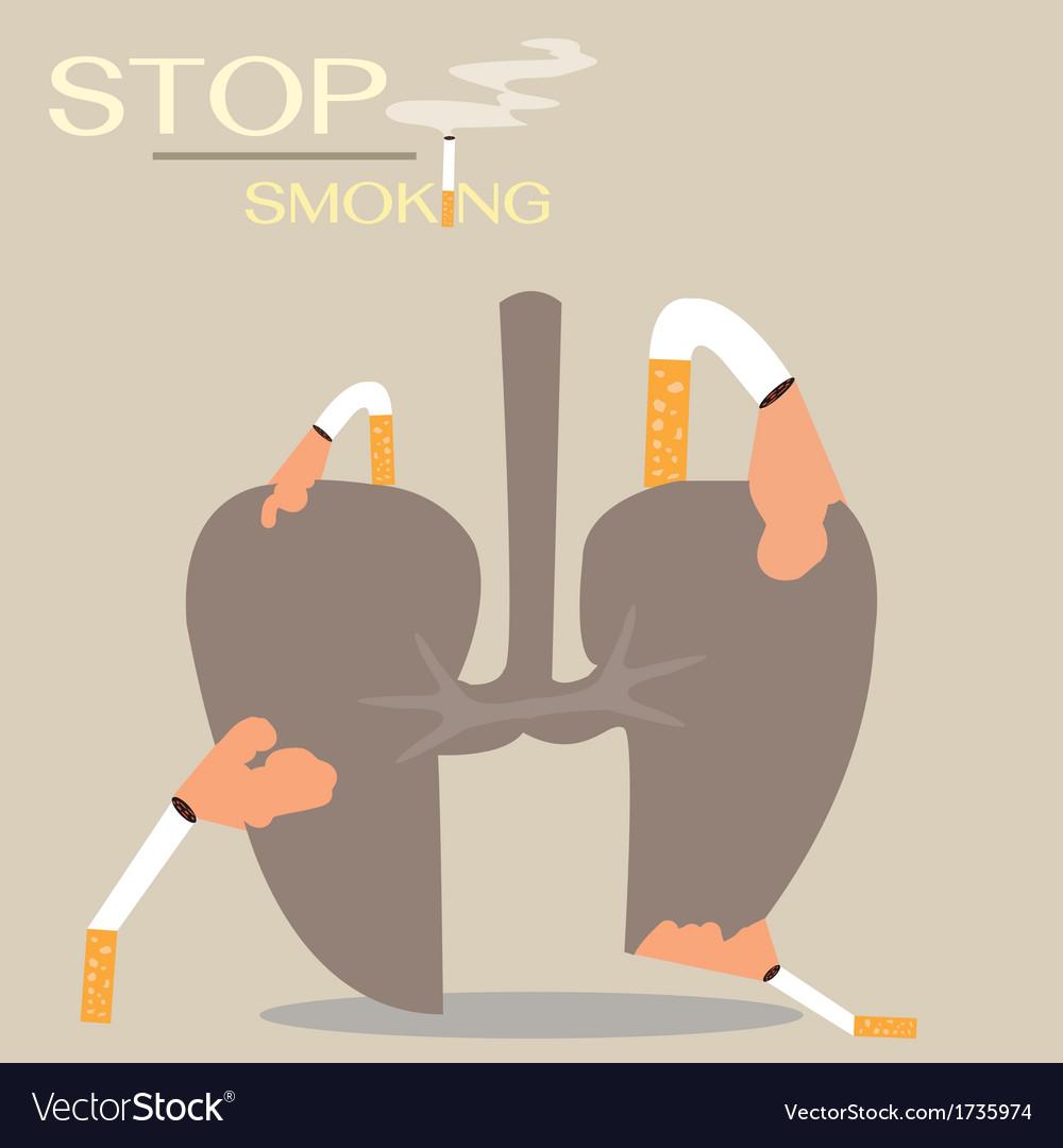 Stop smoking vector | Price: 1 Credit (USD $1)