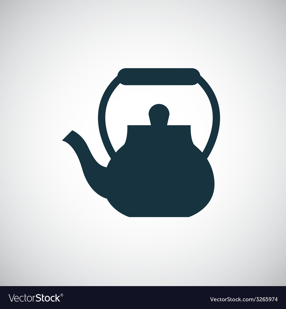 Teapot icon vector | Price: 1 Credit (USD $1)