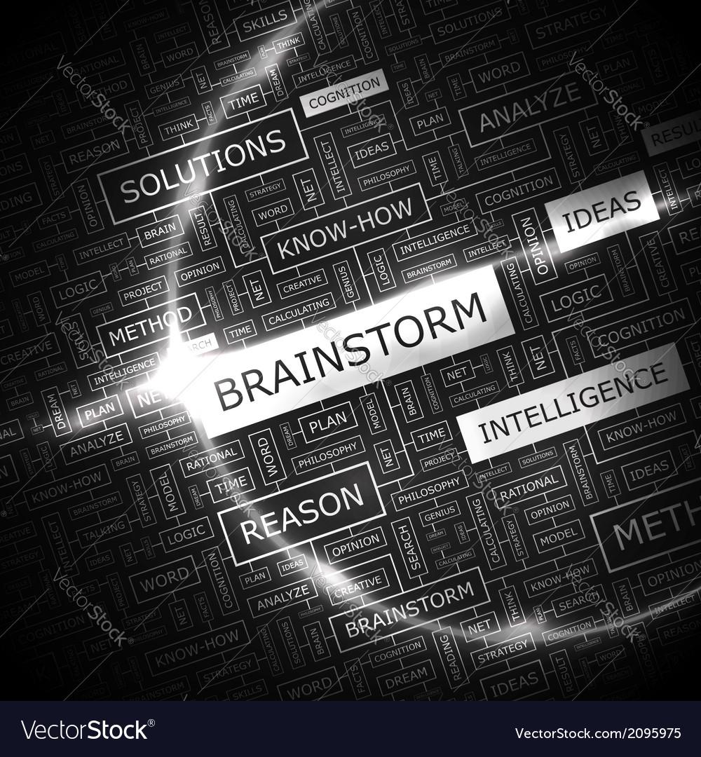 Brainstorm vector   Price: 1 Credit (USD $1)