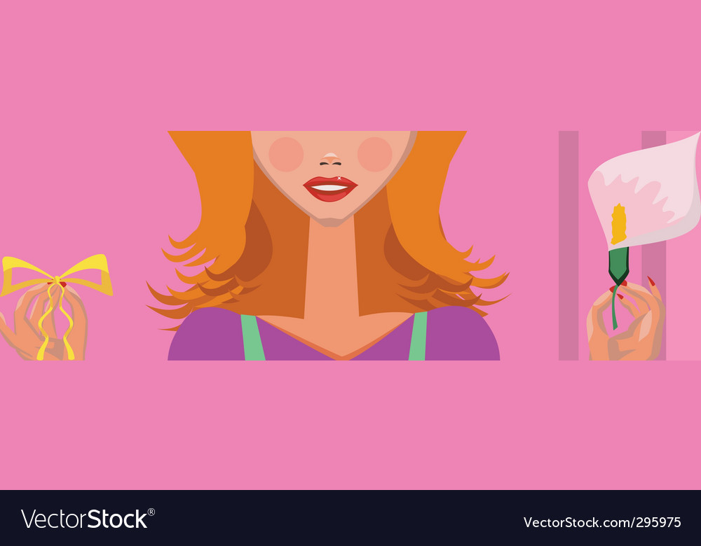 Housewife vector | Price: 1 Credit (USD $1)