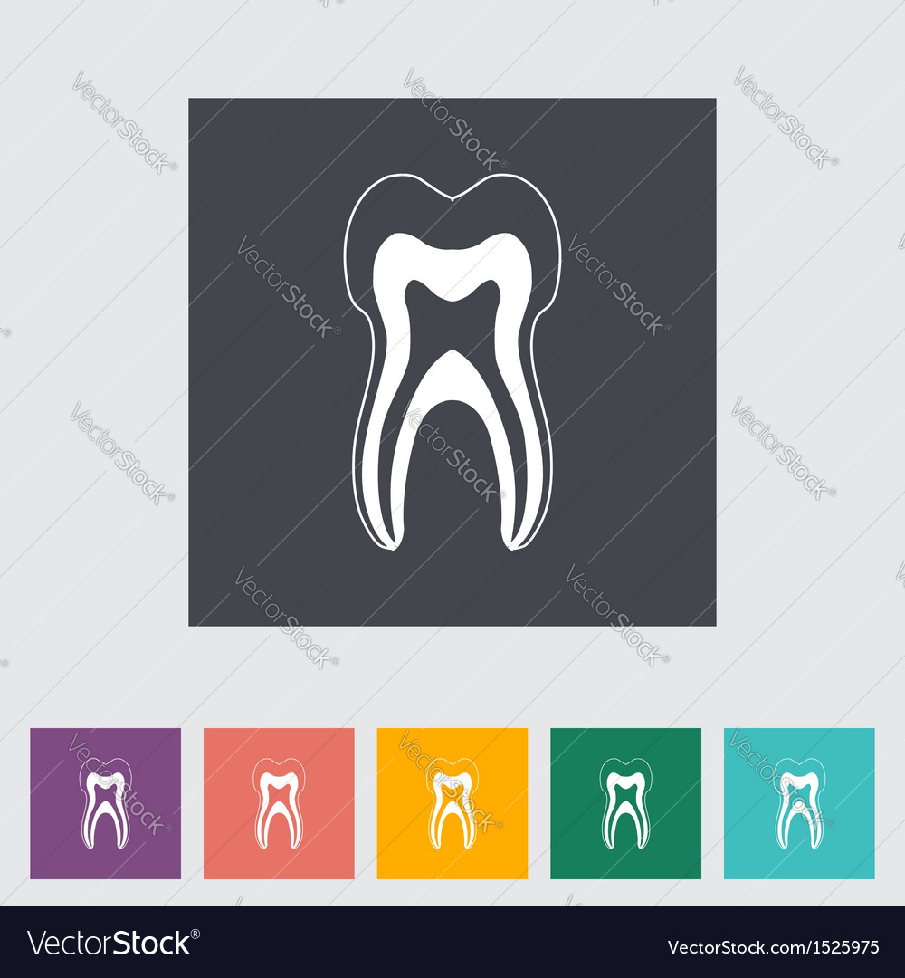 Icon dentistry vector | Price: 1 Credit (USD $1)