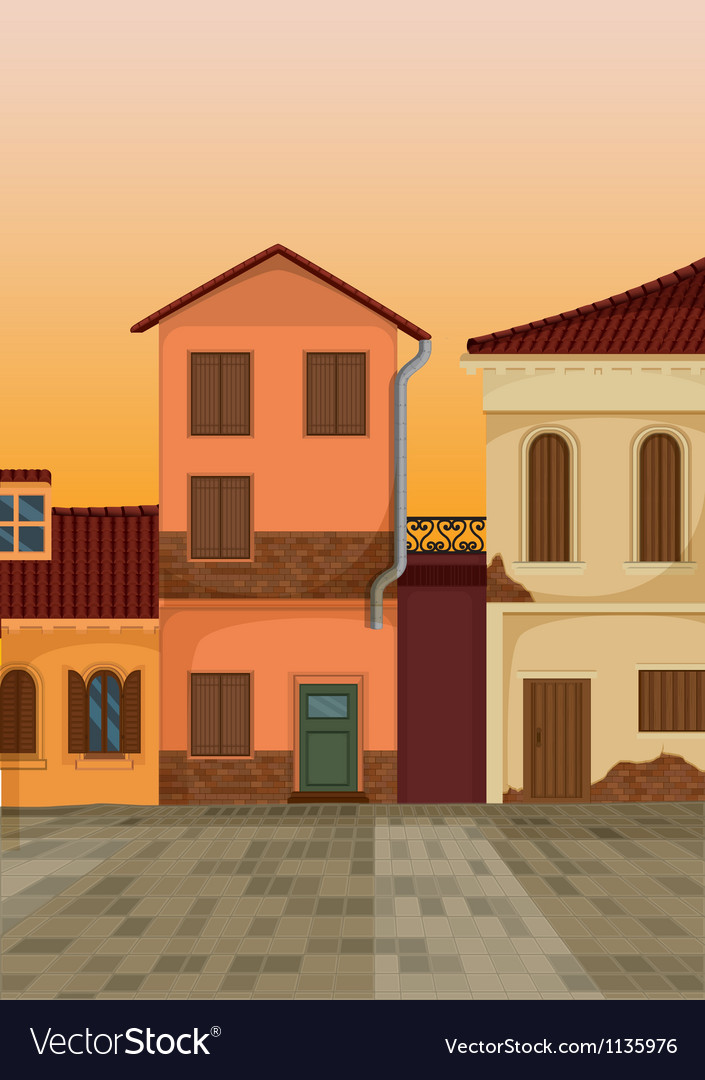House colony vector | Price: 1 Credit (USD $1)