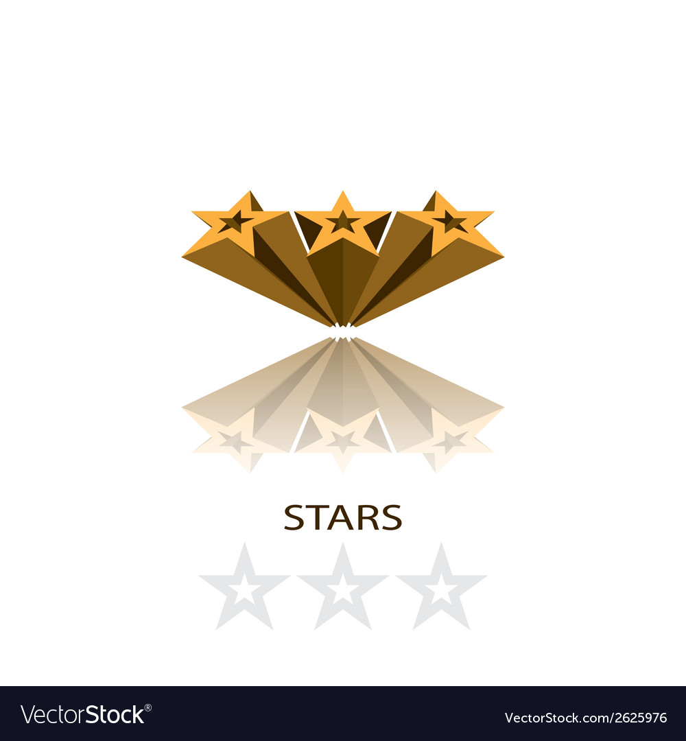 Stars 3d vector | Price: 1 Credit (USD $1)