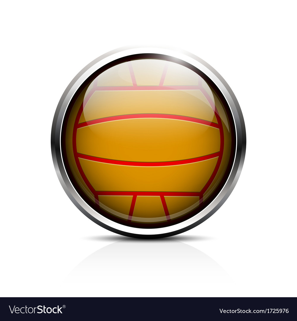 Water polo ball icon vector | Price: 1 Credit (USD $1)
