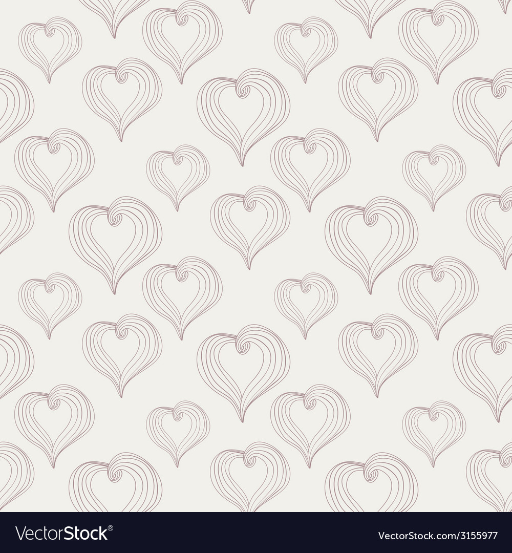 Abstract hearts on a light background vector | Price: 1 Credit (USD $1)